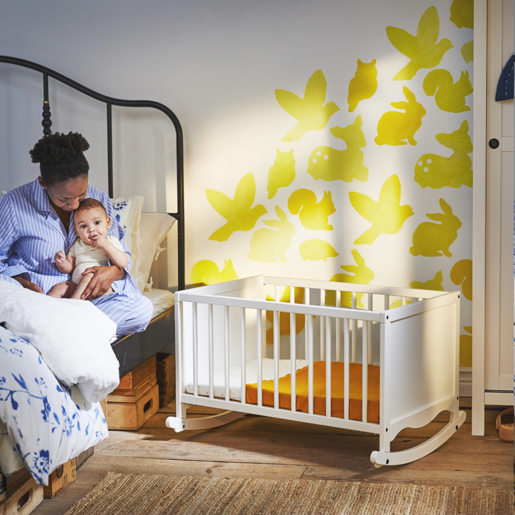 babykamer inspiratie van ikea