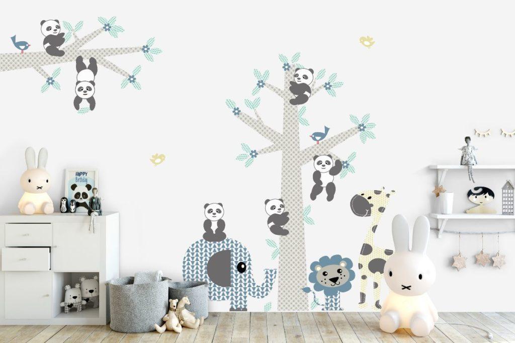Stickers Voor Op De Muur Kinderkamer.Decodeco Lanceert Drie Collecties Vrolijke Muurstickers Voor Baby