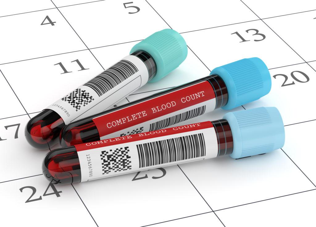 hemoglobinegehalte bij zwangerschap
