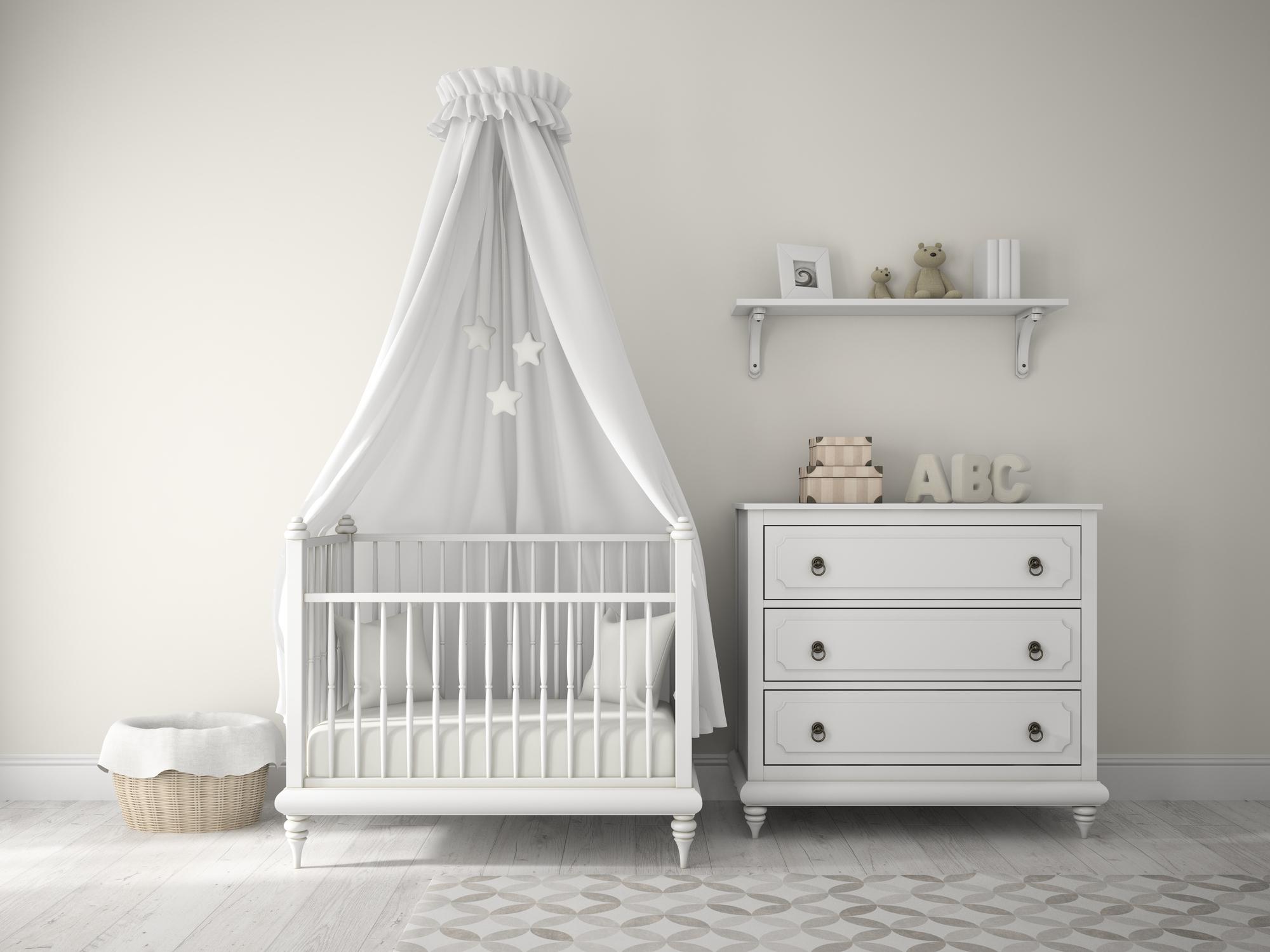 kleine babykamer inchten
