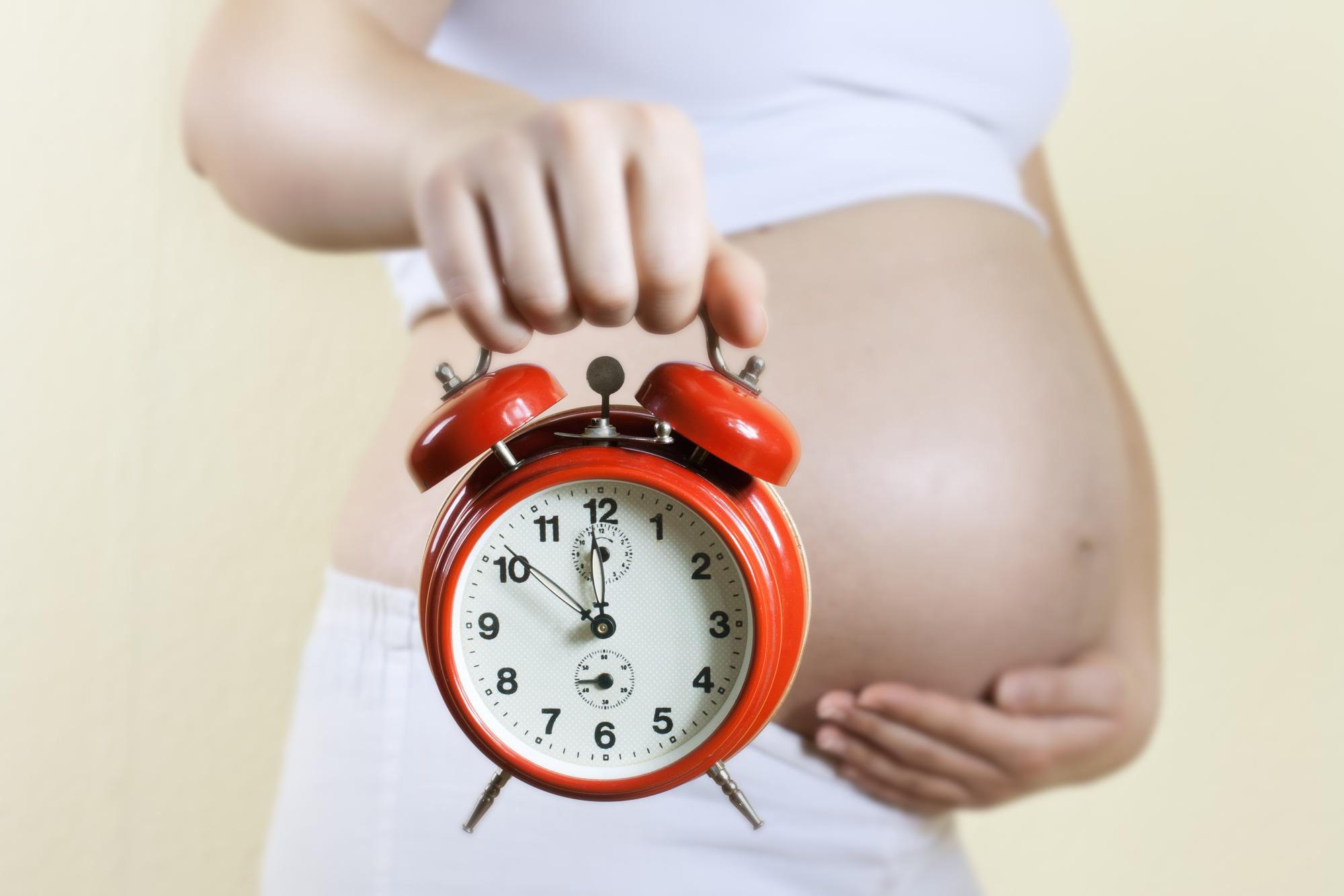 overtijd zwangerschap