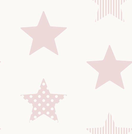 behang-wit-met-sterren