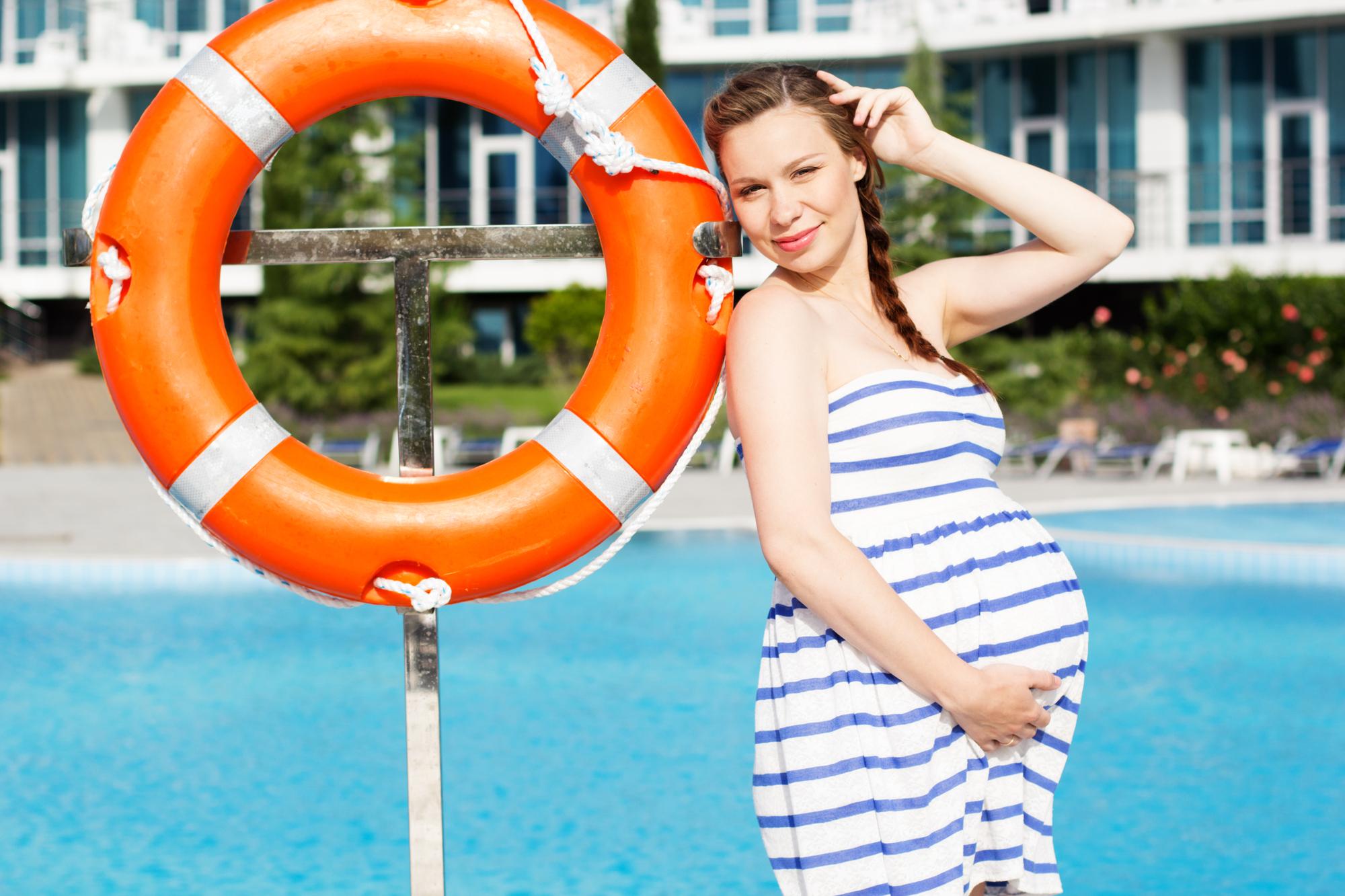 Zwanger op reis