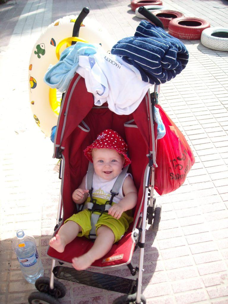 Kinderwagen mee op vakantie