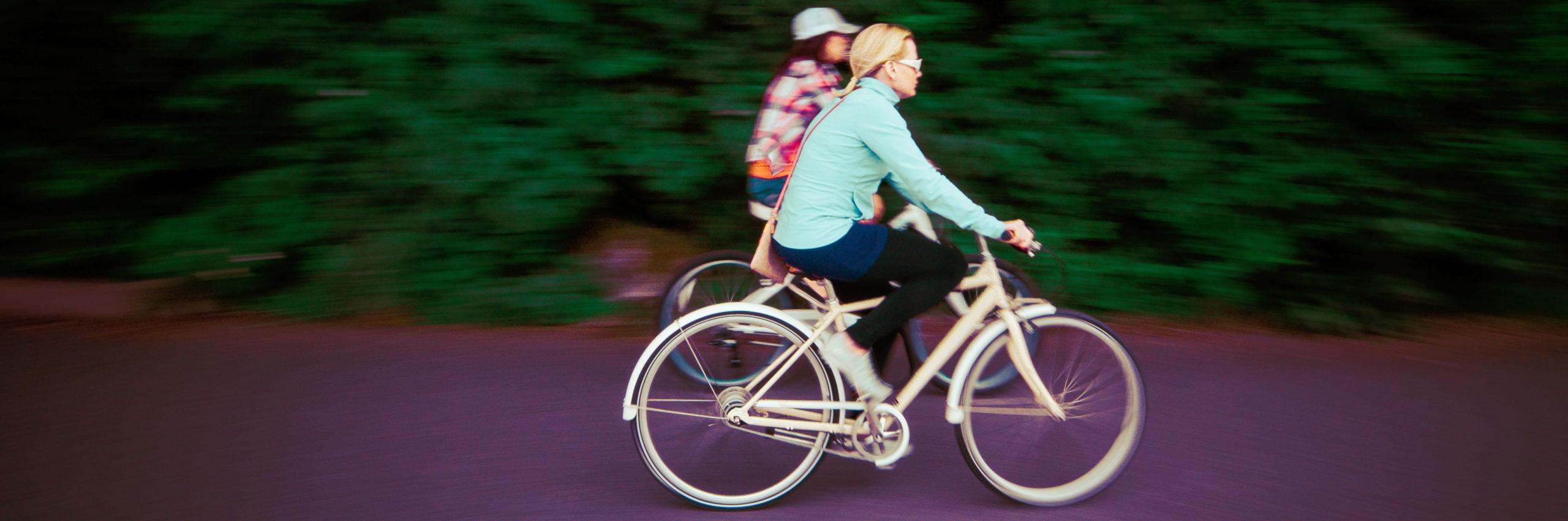 fietsen na bevalling